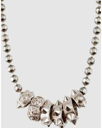 Emanuele Bicocchi | Metallic Necklace for Men | Lyst