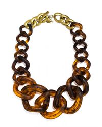 BaubleBar - Brown Jurassic Collar - Lyst