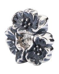 Trollbeads - Metallic Sterling Silver Wild Cherry Bead - Lyst