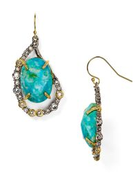 Alexis Bittar - Blue Elements Crystal Embellished Drop Earrings - Lyst