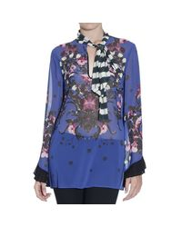 Just Cavalli | Blue Shirt | Lyst