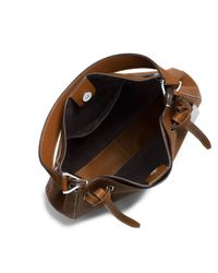 Michael Kors - Brown Rogers Large Shoulder Bag - Lyst