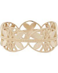 Grace Lee | Metallic Gold Lace Aztec Ring | Lyst