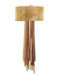 Chloé | Metallic Delfine Multi-Chain Bracelet | Lyst