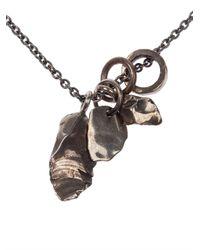 Tobias Wistisen - Metallic Gravel Pendant Necklace for Men - Lyst
