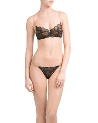 La Perla - Lace Thong - Black - Lyst