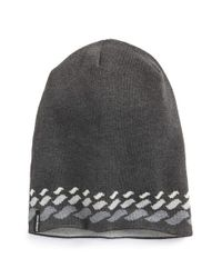 Patagonia - Gray 'flippin' Reversible Beanie for Men - Lyst