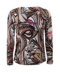 Emilio Pucci | Natural Grasshopper Top | Lyst
