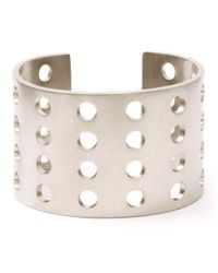 Kelly Wearstler | Metallic Perforated Cuff | Lyst