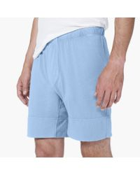 James Perse | Blue Boxer Short - Classic Fit for Men | Lyst