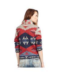 Denim & Supply Ralph Lauren - Blue Shawl Cardigan Sweater - Lyst
