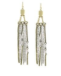 BCBGeneration - Metallic Twotone Drama Chandelier Earrings - Lyst