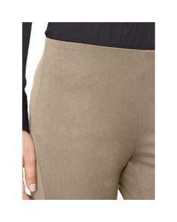 Ralph Lauren - Gray Stretch Cotton Skinny Pant - Lyst