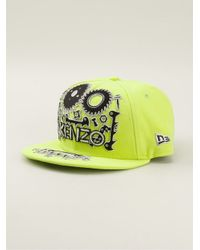 92b9ceeebcf KENZO Monster New Era Cap in Green for Men - Lyst