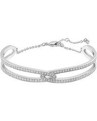 Swarovski | Metallic Creativity Bangle | Lyst