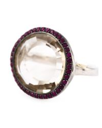 Rosa Maria | Metallic 'Julia' Ring | Lyst