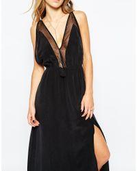 Jen's Pirate Booty | Black Jen's Pirate Booty Evening Star Maxi Dress In Silk | Lyst
