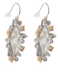 Alexis Bittar | Metallic Mosaic Crystal Studded Drop Earrings | Lyst