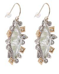 Alexis Bittar - Metallic Mosaic Crystal Studded Drop Earrings - Lyst