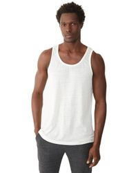 Alternative Apparel | White Shaggy Tank Top for Men | Lyst