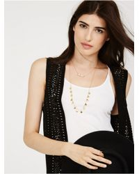 BaubleBar | Metallic Howlite Layered Strands | Lyst