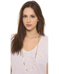 Phyllis + Rosie - Metallic The Linett Necklace - Gold - Lyst