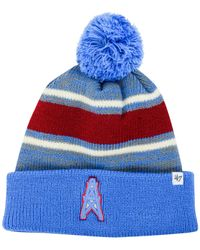 Brand houston oilers fairfax pom knit hat red product normal jpg 200x250 Houston  oilers hat 47 b61204b2d