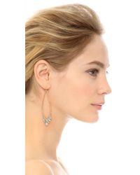 Alexis Bittar | Metallic Jagged Marquis Teardrop Earrings - Gold Multi | Lyst