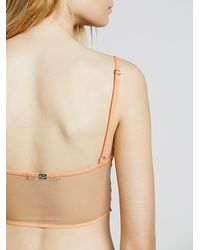 Free People - Orange Snapdragon Underwire Bra Snapdragon Cheeky Undie - Lyst