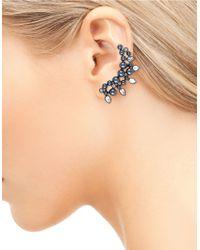 Sam Edelman | Gray Faux Pearl And Stone Ear Crawler | Lyst