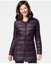 32 Degrees | Purple Quilted Down Packable Puffer Coat | Lyst