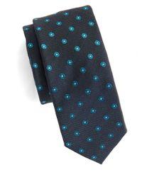 Original Penguin | Green Neat Floral Tie for Men | Lyst