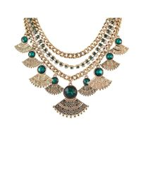 Ziba | Metallic Signature Margaux Necklace | Lyst