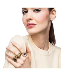 Lulu Frost | Metallic Eternal Ring | Lyst