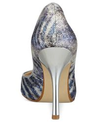 Guess - Blue Carrie Pumps - Lyst