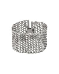 Pieces | Metallic Bracelet | Lyst