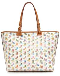 Dooney & Bourke | Multicolor Db 75 Signature Multi Leisure Shopper | Lyst