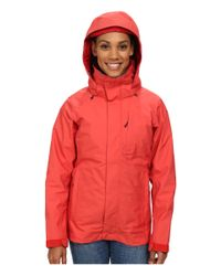 Patagonia | Red 3-in-1 Snowbelle Jacket | Lyst