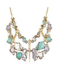 Alexis Bittar - White Moonlight Mosaic Bib Necklace - Lyst