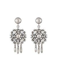 DANNIJO - Metallic Rourke Earrings - Lyst