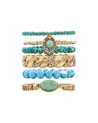 Samantha Wills | Blue World Of Wonderlust Bracelet Set | Lyst