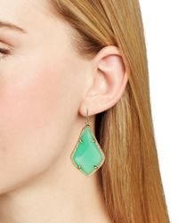 Kendra Scott - Green Alex Drop Earrings - Lyst