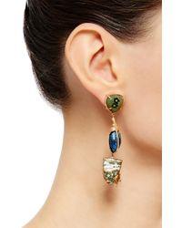 Daniela Villegas - Multicolor One Of A Kind Tundra Earrings - Lyst