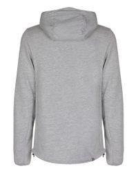 Bench | Gray Achiever Plain Zip-thru Hoodie for Men | Lyst