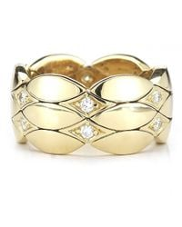 Cartier | Metallic Pre-Owned: 18K Yellow Gold Diamond Ring | Lyst