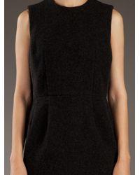 Comme des Garçons - Black Wool Dress - Lyst