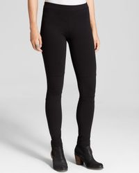Sanctuary - Black Moto Leggings - Lyst