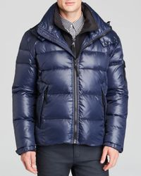 S13/nyc | Blue Downhill Hooded Jacket for Men | Lyst