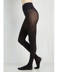 Commando - Black Reliably Chic Tights In Noir - Lyst