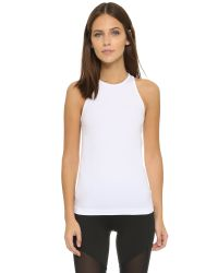 Theory - White Spike Kint Leen Tank - Black - Lyst